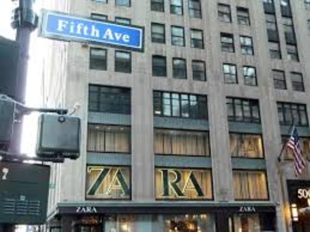 ZARA nueva imagen en la 5a Av NY