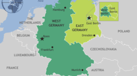 W. Germany Reconstruction 1945-1991 timeline
