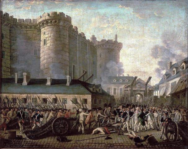 Bastille Prison is attacked