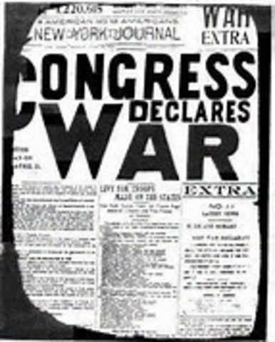 US Declaration of War on Spain