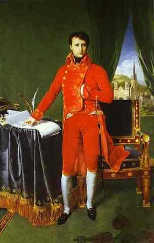 Napoleón establecio el consulado