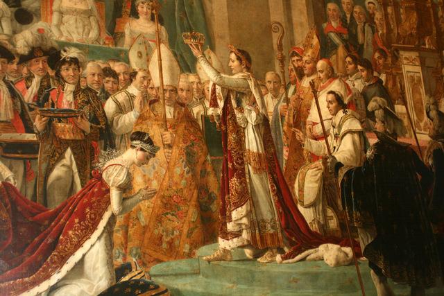 Napoleón se hizo coronar emperador
