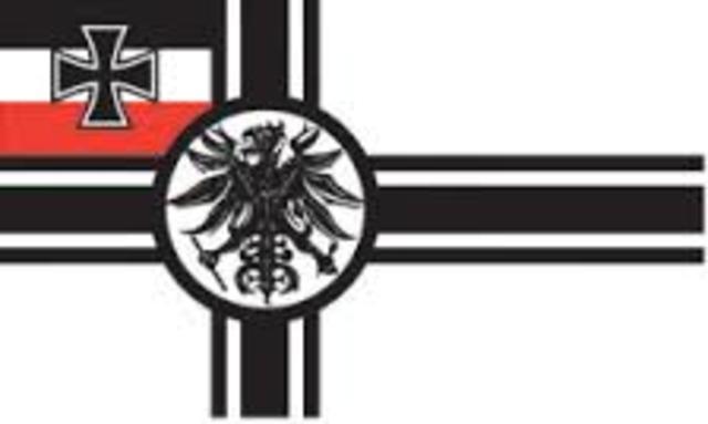 segundo reich Alemán