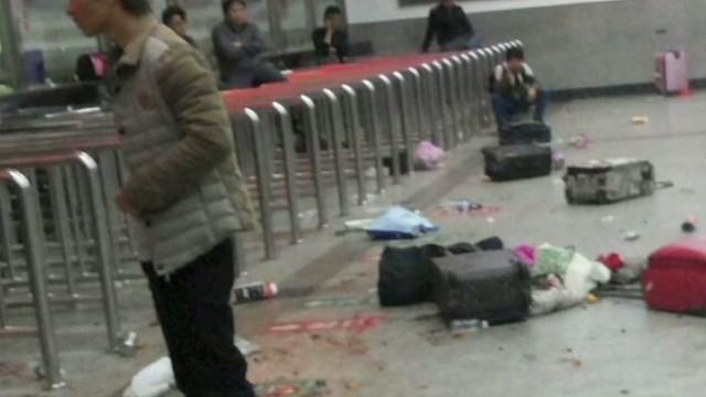 Train Station Stabbing in China