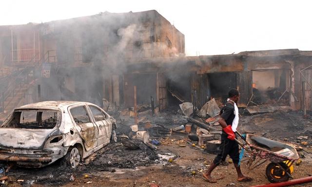 Nigeria is Bombed Twice
