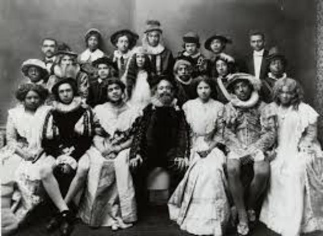 first African-American drama group