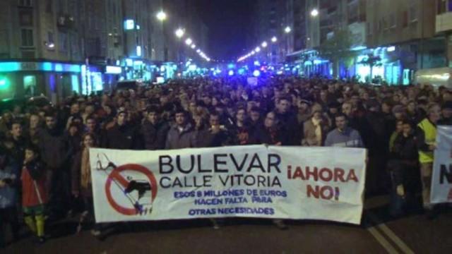 Manifestación multitudinaria