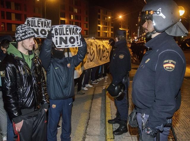 Manifestación y nuevas detenciones
