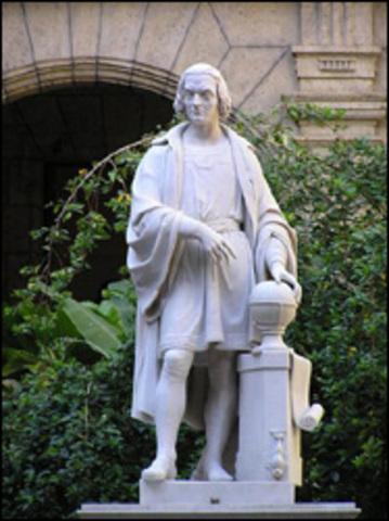 Христофор Колумб переселился в лучший мир