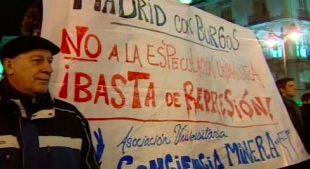 Marchas de apoyo en diferentes ciudades españolas