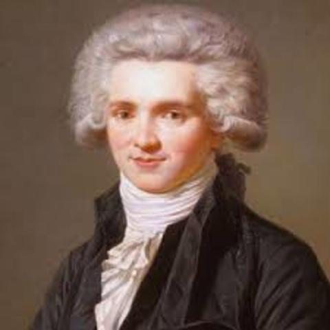 Robespierre was guillotined
