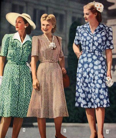 1950-1959 Fashion timeline