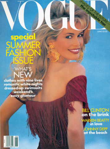 1992 Vogue Fashion Magizine