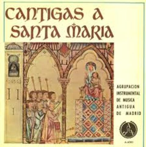 "Alfonso X el sabio ""Cantigas de Santa Maria"""
