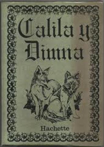 ANÓNIMO Calila y Dimma