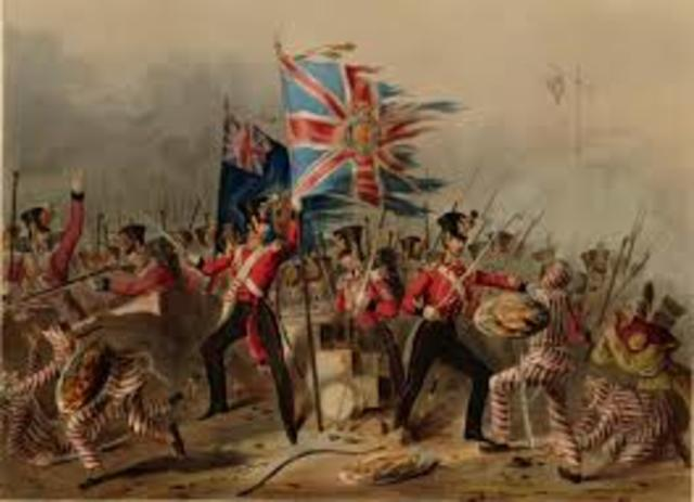 China and Britian clash in opium wars