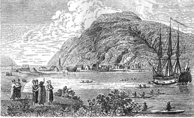 основание поселения на острове Кадьяк у берегов Аляски Шелеховым