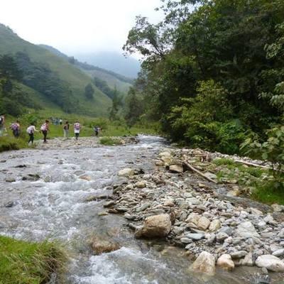 breve historia  del río Medellin timeline