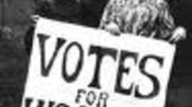 A Woman's Right to Vote. timeline