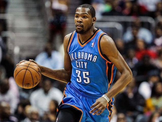 Kevin Durant signed with nike.