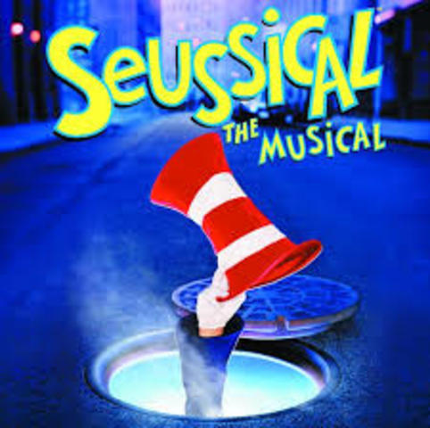 Seussical the Musical opens on Broadway