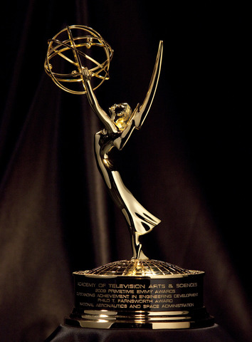 Dr. Seuss receives and Emmy Award
