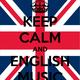 Keep calm and english music
