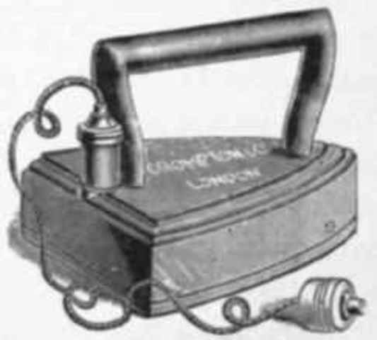 1800 Electric Iron ~ Inventions timeline timetoast timelines