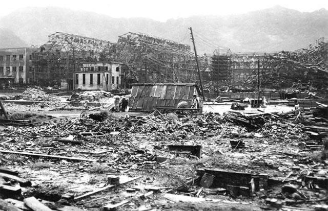 Bombing of Hiroshima and Nagasaki