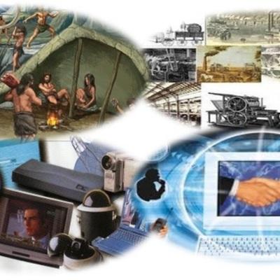 Desde la piedra hasta la virtualidad: algunos eventos en el desarrollo de la tecnología timeline