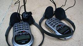 Les inventions liées à l'évolution des parcours touristiques audio guidées. timeline