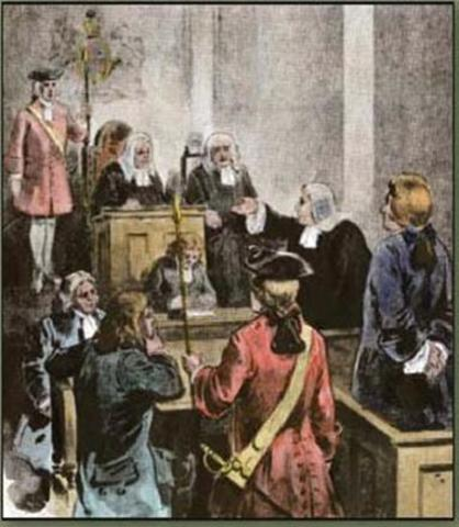 john peter zenger and the responsibilities John peter zenger facts: john peter zenger (1697-1746), american printer, was   he argued for an enlarged role for the jury, as opposed to the judges, in libel.