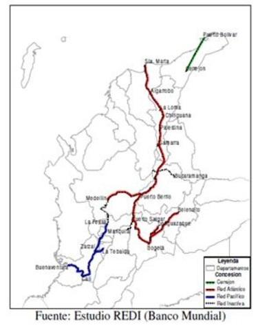 La linea Ferrocarril