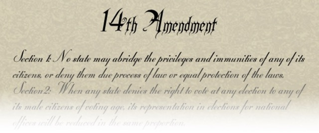 The 14th Amendment is Ratified