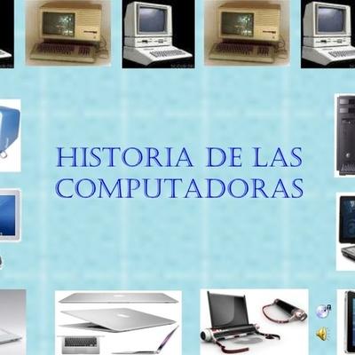 historia y evolucion  de la computadora timeline