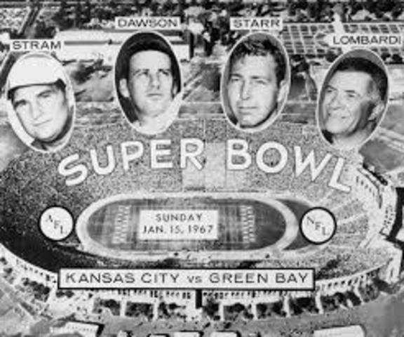 The First Super Bowl
