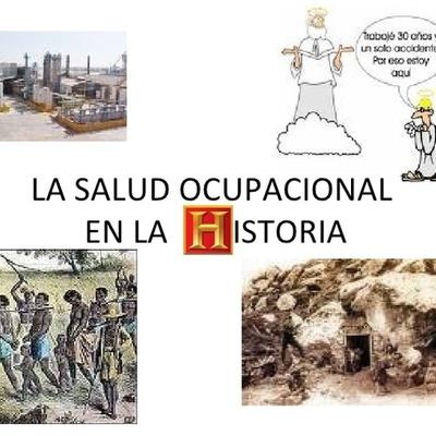 Historia Salud Ocupacional timeline
