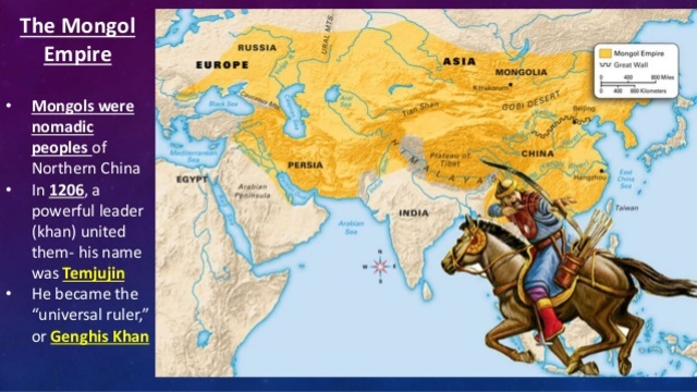 Mongol timeline timetoast timelines the mongols become united gumiabroncs Images