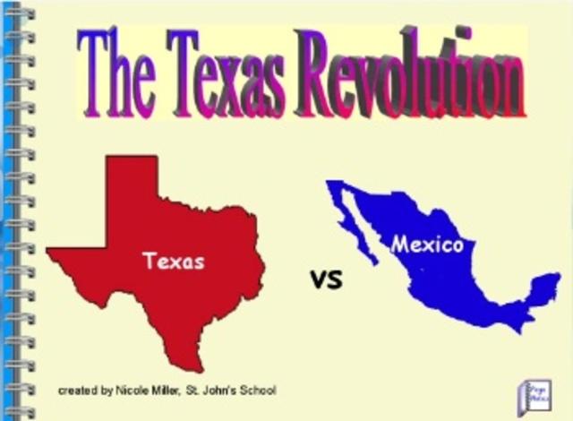 texas vs mexico the texas revolution timeline timetoast timelines