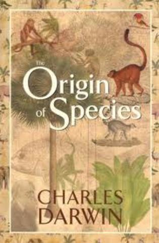Publication of Origin of Species
