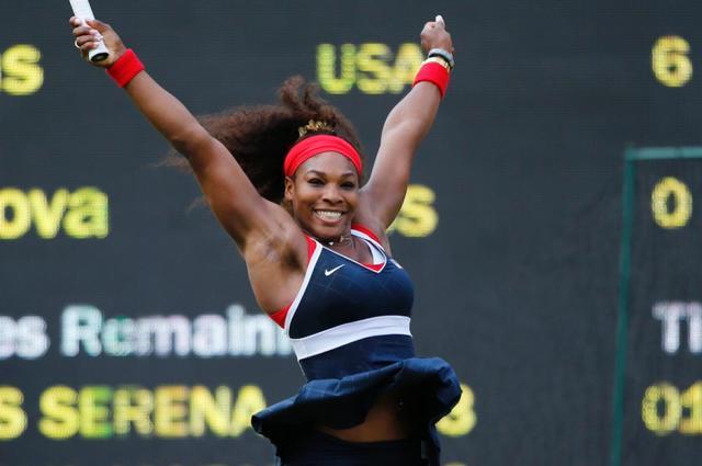 Serena beats her sister AGAIN