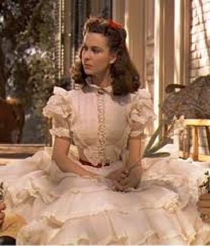 Cast as Scarlett