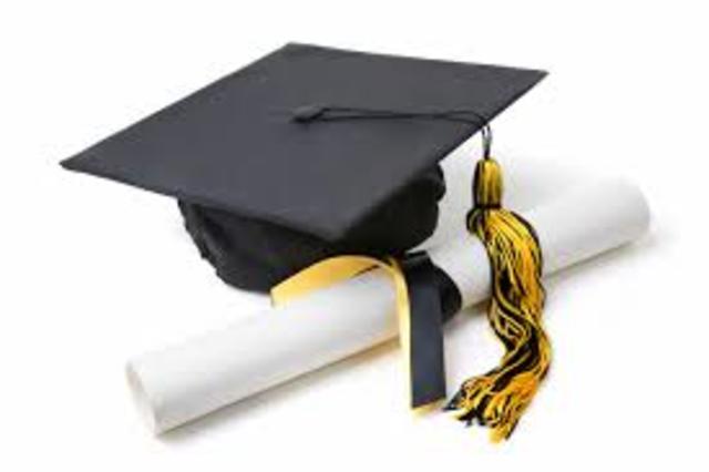 Adrian Graduates from high school