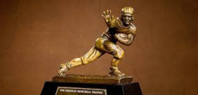Adrian finishes second for Heisman trpphy