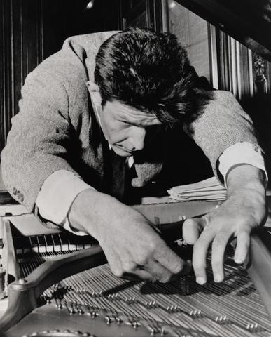 Invents Prepared piano