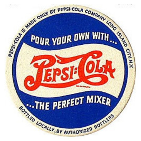 Pepsi-Cola Logo colors changed