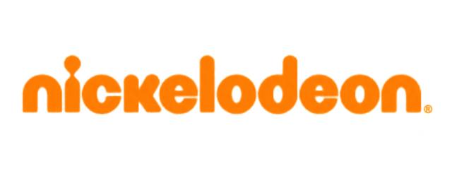 Flat text logo