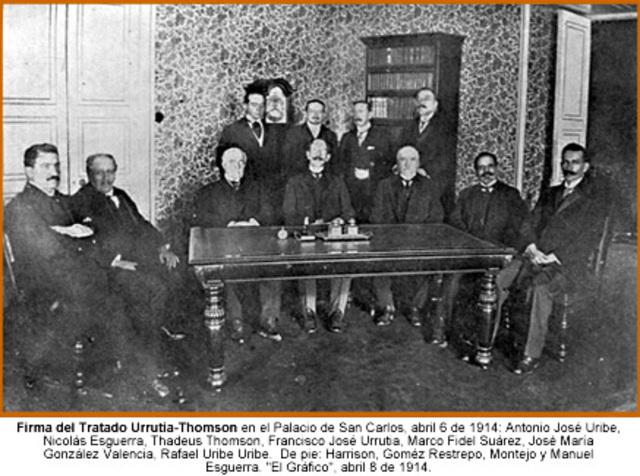 TRATADO URRUTIA THOMSON.