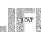 Life is the word typography