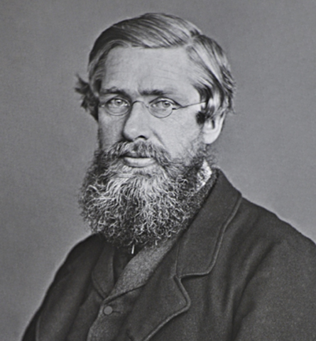 Alfred Russel Wallace was born.
